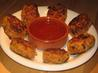 Thai Red Curry Crab Cakes With a Chili Dipping Sauce. Recipe by The Flying Chef