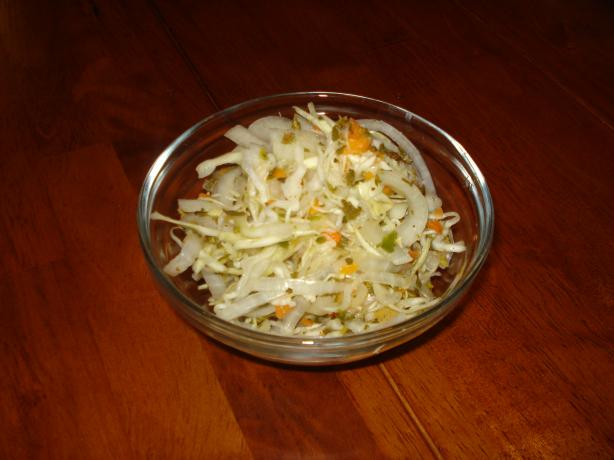 Curtido (Salvadorean Pickled Coleslaw). Photo by Tiny_Toodles