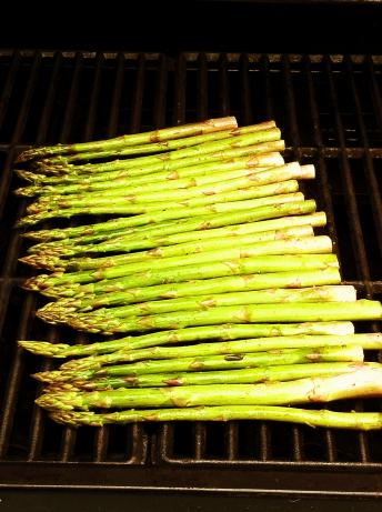Grilled Asparagus. Photo by aencalada