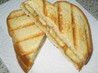 Grilled Peanut Butter and Banana Sandwich (No Butter). Recipe by brokenburner