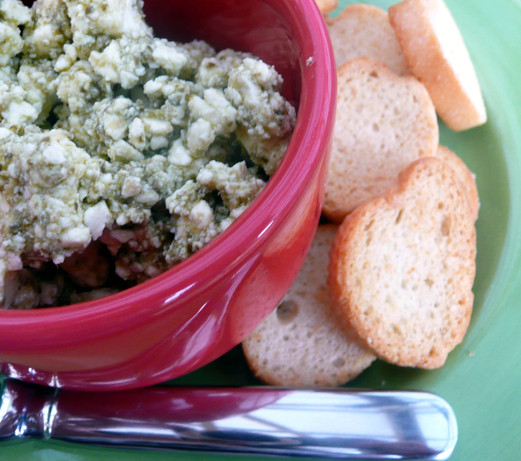 Green Feta Dip. Photo by Stardustannie