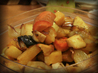 Maple-Baked Root Vegetables. Recipe by theAmateurPastryChef