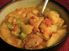 Tuscan White Bean and Fennel Stew With Orange and Rosemary. Recipe by theAmateurPastryChef