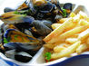 Moules Frites - French/Belgian Bistro Style Mussels and Chips