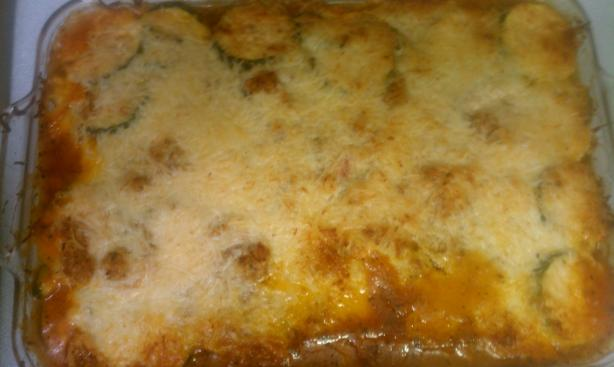 Helen's Zucchini Casserole. Photo by debby090