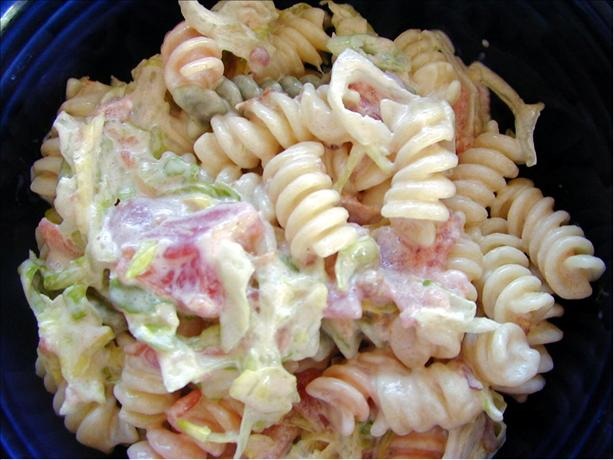 BLT Pasta Salad. Photo by AmyMCGS