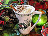 Après-Ski Holiday Hot Chocolate With  Brandy and Cream. Recipe by French Tart