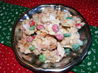 Christmas Bark Candy. Recipe by Seasoned Cook