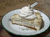 Chef Joey's Banana Coconut Cream Cheese Pie. Recipe by Chef Joey Z.