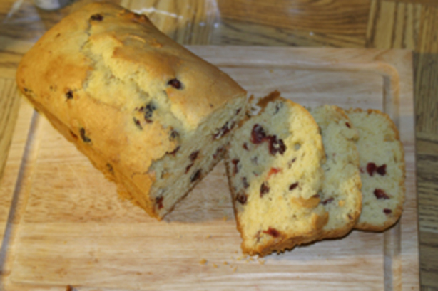 Lemon-Cranberry Quick Bread. Photo by Chef #350132 Mama Schlom