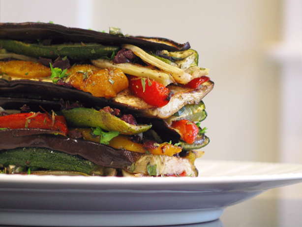 Marinated Roasted Vegetable Antipasto. Photo by kelly in TO