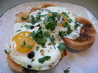 Fried Eggs With Coriander, Cumin and Balsamic Vinegar. Recipe by MarraMamba