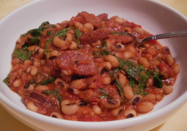 Black-Eyed Pea Stew. Photo by PanNan