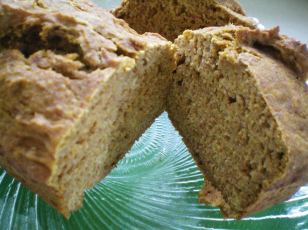 Low Fat, Sugar Free Pumpkin Bread. Photo by CoffeeB
