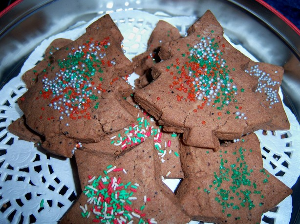 Chocolate Wattleseed Biscuits. Photo by **Mandy**