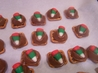 Rolo Pretzel Candy. Recipe by Rae England