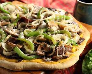 Philly Cheesesteak Pizza. Photo by anniek36