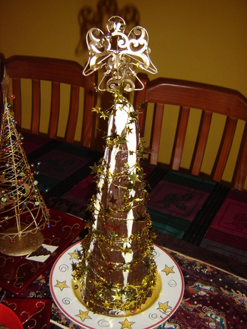 Christmas Tree! Rocky Road Treat. Photo by limecat