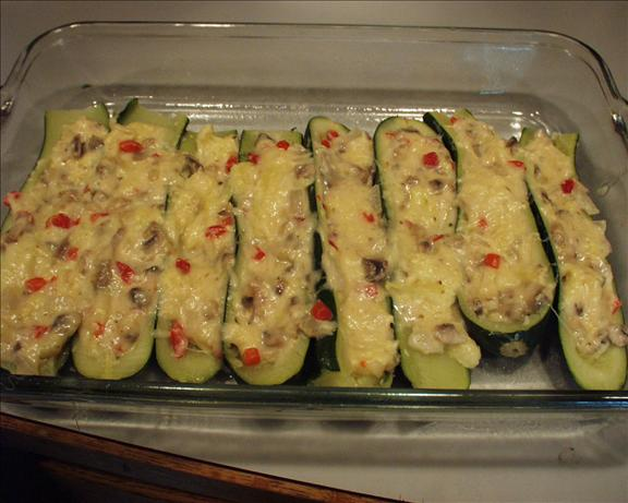 Stuffed Zucchini. Photo by Marsha D.