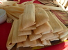 Tamales De Pollo Con Chile Verde- Green Chile Chicken Tamales. Recipe by cookiedog