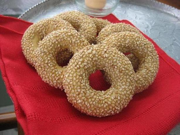 Sesame Rings. Photo by averybird