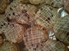 Bells & Holly Lattice Cookies: Cranberry, White Chocolate, Orange, & Ginger