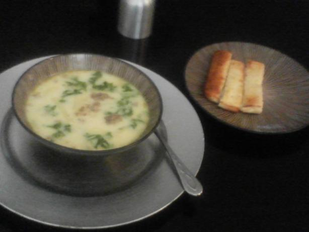 Olive Garden Zuppa Toscana Soup. Photo by Elizabeth Silva
