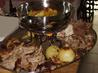 Moist Roast Turkey With a Port Gravy. Recipe by The Flying Chef