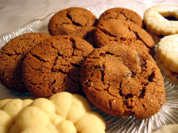 Swedish Ginger Cookies With Crystallized Ginger. Photo by Dreamer in Ontario