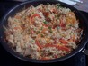 Asian Pork/Chicken & Noodle Skillet-Pampered Chef. Recipe by um-um-good