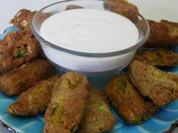 Crispy Fried Pickles!. Photo by mydesigirl