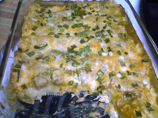 Addictive Green Enchiladas. Photo by Melvin&#39;sWifey