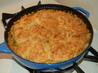 Turkey Pot Pie With Cheddar Biscuit Crust. Recipe by Queen Dragon Mom