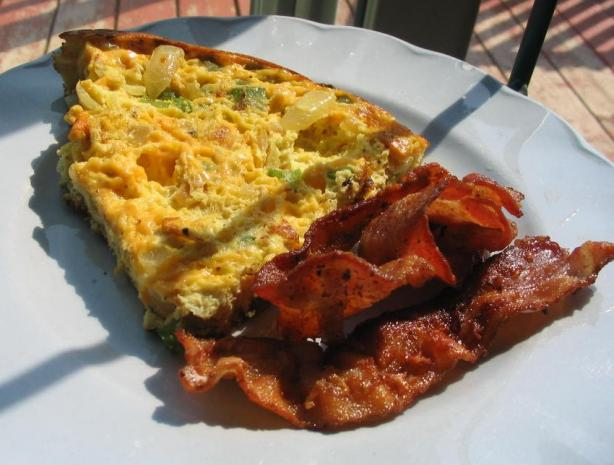 Easy Breakfast Frittata. Photo by Lorrie in Montreal