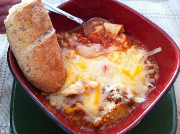 Lasagna   Cheese   Soup. Photo by Just_Ducky!!