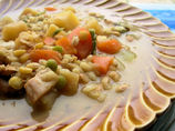 Old Thyme Turkey Scotch Broth With Barley, Beans and Lentils