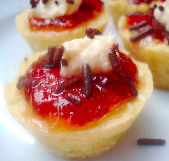 Shortbread Fruit Tartlets. Photo by Roxanne J.R.