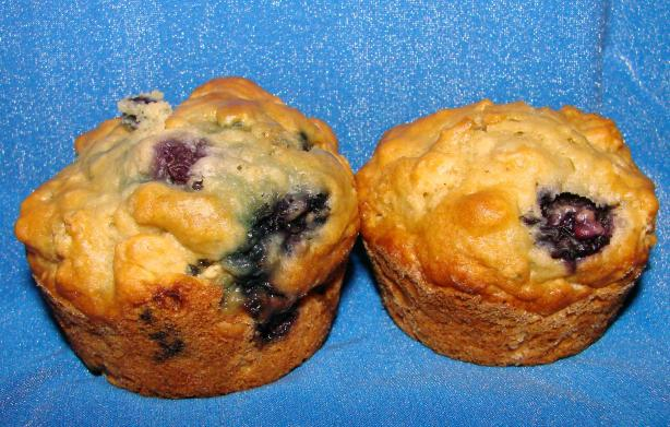 Oatmeal-Blueberry Muffins. Photo by Boomette