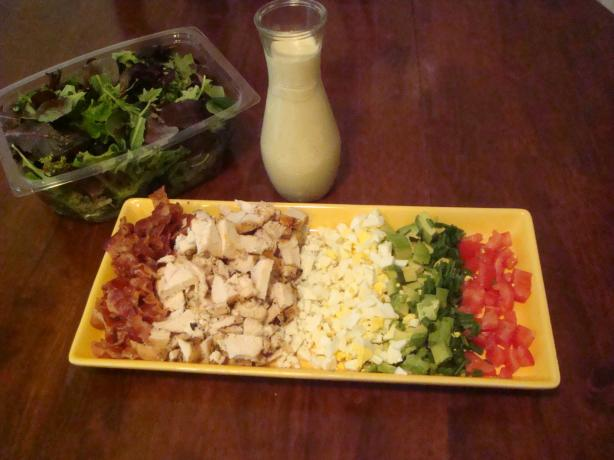 Lynn's Cobb Salad. Photo by Barenaked Chef