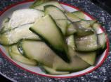 Marinated Zucchini Salad - Easy and Healthy