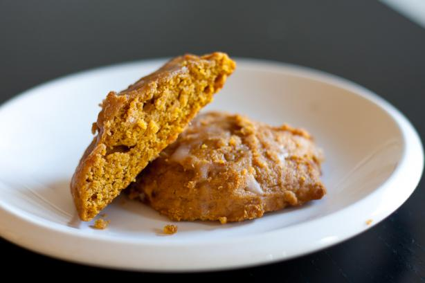 Vegan Old-Fashioned Soft Pumpkin Cookies. Photo by djkevinjames