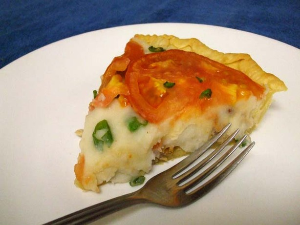 Savory Mashed Potato Pie. Photo by VickyJ