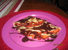 Crepes With Strawberries and Chocolate Sauce. Recipe by Brittney_B
