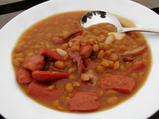 Crock Pot Beanie Weenies. Photo by lazyme