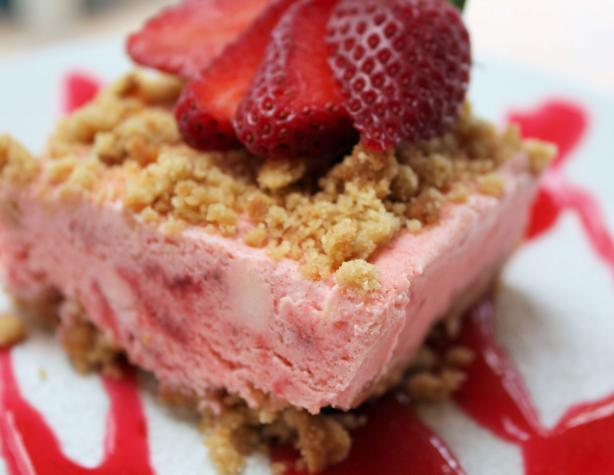 Frosty Strawberry Dessert. Photo by **Jubes**