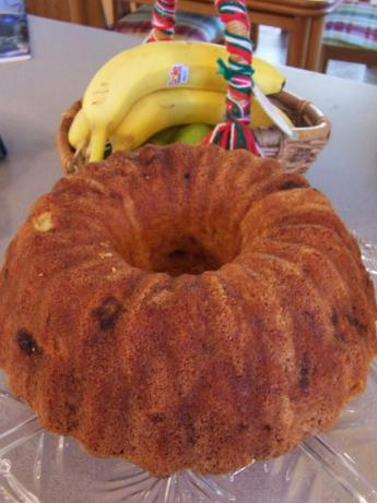 Banana Pound Cake. Photo by SweetsLady