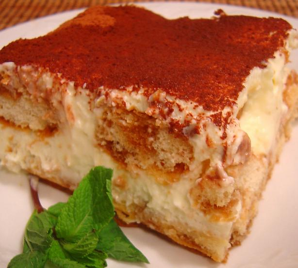 Olive Garden Tiramisu - Copycat. Photo by :(