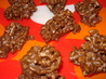 Crispy Chocolate Peanut Butter Pretzel Balls. Recipe by C. Taylor
