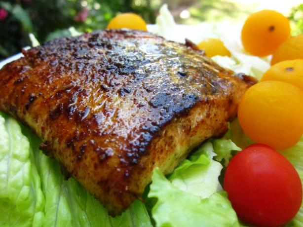 Cajun Blackened Salmon. Photo by gailanng