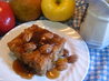 Apple Pudding Cake With Butterscotch Sauce